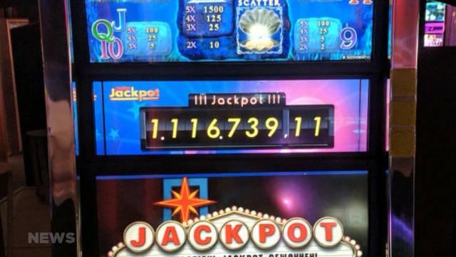 Jackpot geknackt im Casino Kursaal