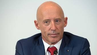 Rücktritt: Patrik Gisel gibt sein Amt als Raiffeisen-Chef auf Ende Jahr ab. (Archiv)