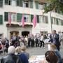 Europäische Tage des Denkmals auf dem Kurplatz in Baden
