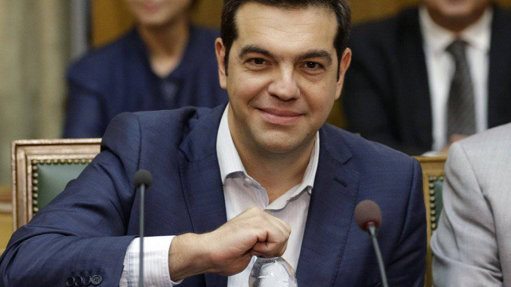 Griechenlands Regierungschef Alexis Tsipras (Archiv).