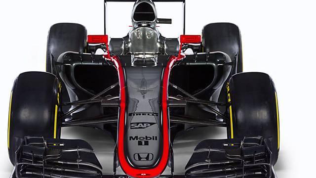 Der Formel-1-Bolide von McLaren: MP4-30