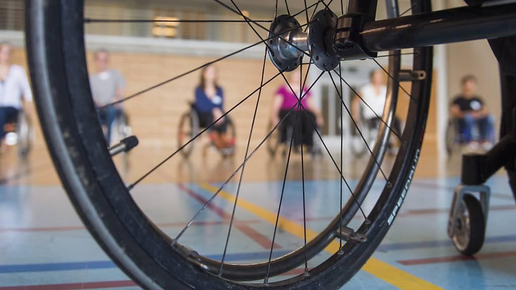 Die Schweizer Paraplegiker-Stiftung (SPS) unterstützt Querschnittgelähmte. (Archivaufnahme)