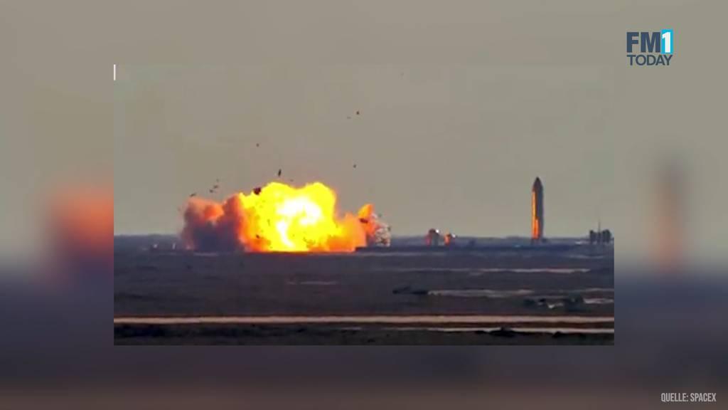 Erneute Panne: SpaceX-Rakete explodiert bei Testflug