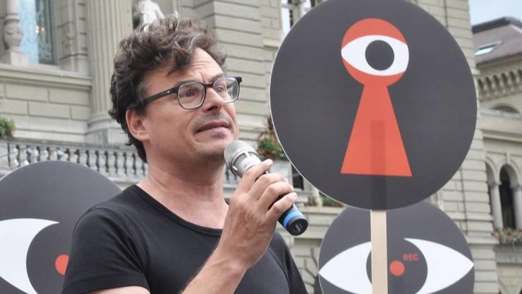 Daniel Graf von der «Stiftung für direkte Demokratie»