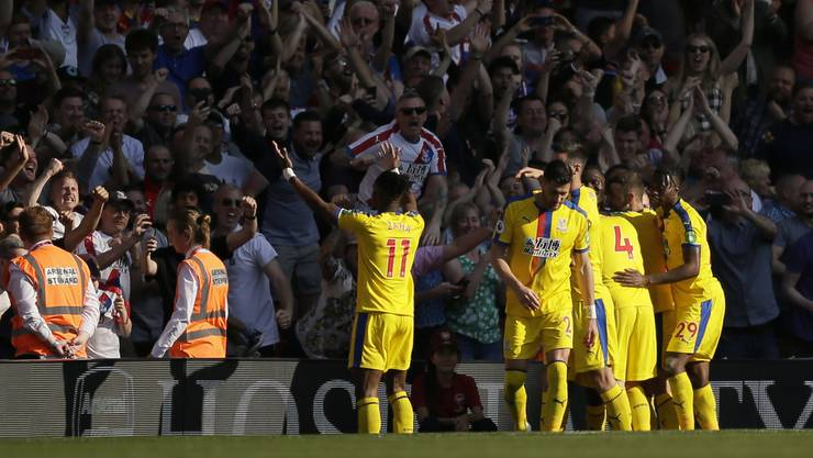 Das Team von Crystal Palace wird in der Schweiz spielen.