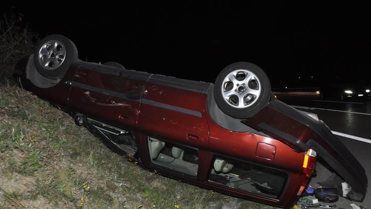 Am Donnerstagabend kam es in Niederbipp zu einem Unfall zwischen zwei Autos.