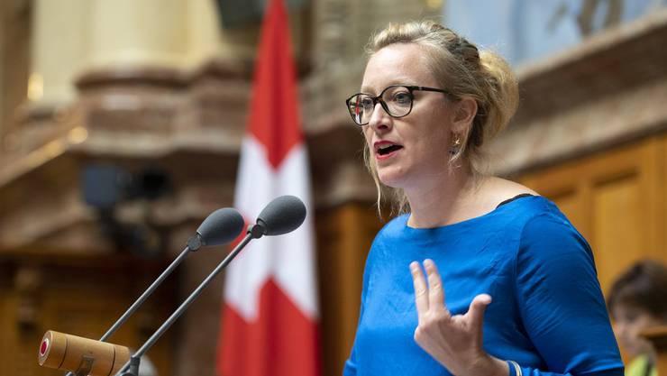 Die Grüne Nationalrätin Aline Trede würde die Schweiz lieber am 16. März feiern.