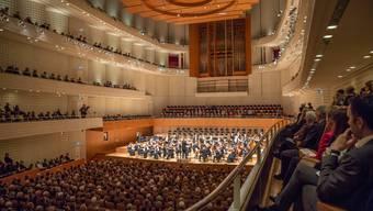 Das erste Konzert des Argovia Philharmonic im KKL
