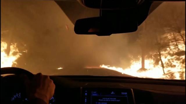 Höllenfahrt durch Flammeninferno: «Lieber Gott, bitte hilf uns!»