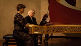 Mit den historischen Instrumenten lädt das Konzert zu einer Zeitreise ein.