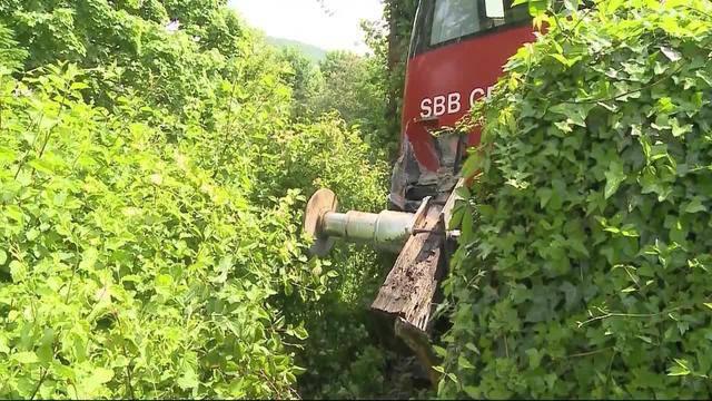 Zugunfall Baden geklärt
