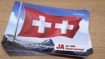 Das Schweizer Stimmvolk hat der AHV-Steuervorlage bereits im Mai Ja gesagt.  Über die Umsetzung im Kanton Zürich wird am 1. September abgestimmt. (Symbolbild)