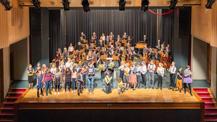 Konzert des Stadtorchesters mit dem Kinderzirkus Pitypalatty. (Archiv)