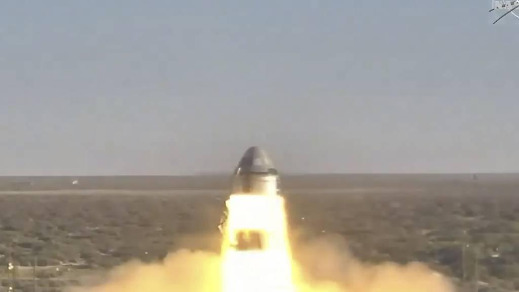 """Boeing baute den """"Starliner"""" im Auftrag der Nasa, um damit künftig US-Astronauten zur Internationalen Raumstation bringen zu können."""
