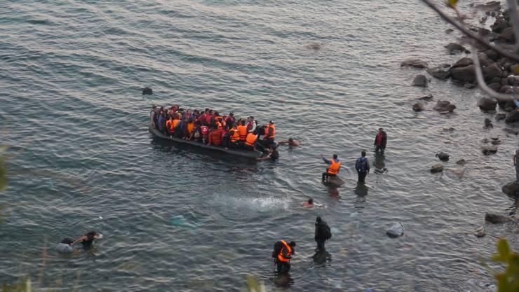Mehr als eine halbe Million Flüchtlinge haben über den Ägäiskorridor in den letzten Monaten Europa erreicht.