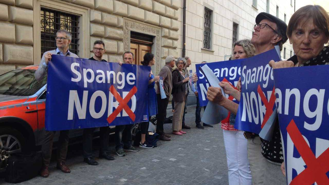 SP will Initiative gegen Spange Nord
