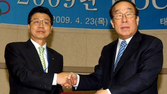 Das Olympische Komitee von Korea entschied sich mit 30:13 für eine neuerliche Kandidatur