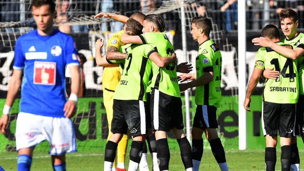 Sonnenschein im Tessin: Lugano rückt dank dem Heimsieg gegen Luzern auf Platz 3