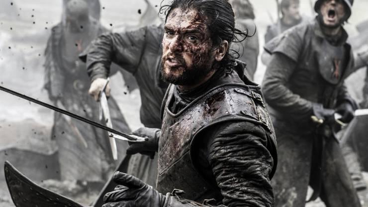 """Jon Snow (Kit Harington) kämpft in """"Game of Thrones"""" gegen die White Walkers. Seinen Kampf verpassten australische TV-Zuschauer teilweise wegen technischen Aussetzern."""