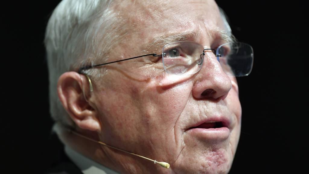Blocher zieht sich nicht komplett aus Politik zurück