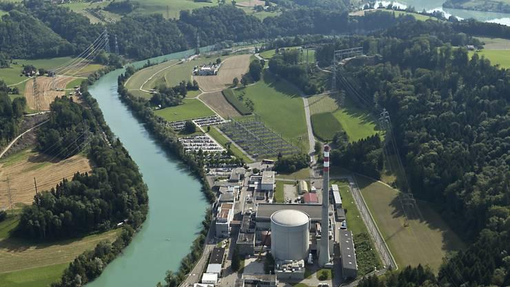 Die 2019 geplante Abschaltung des AKW Mühleberg wird zu einer Abkühlung der Aare führen.