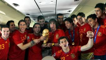 Spaniens Helden sind wieder zuhause