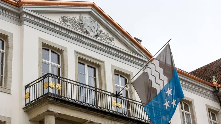 Das Regierungsgebäude in Aarau. (Archiv)