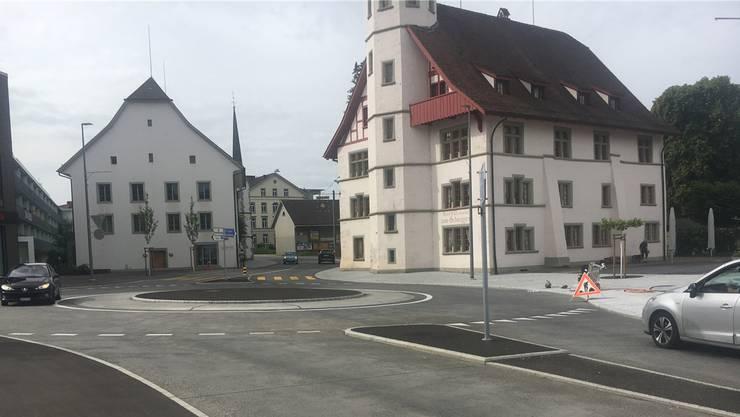 Die Bauarbeiten sollen am 15. Juni zu Ende sein.