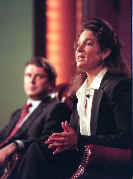 Jamie Tarses im Jahr 1996 bei der Präsentation der neuen Serien für ABC.