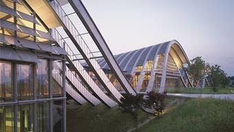 Das Zentrum Paul Klee in Bern stammt von Renzo Piano.