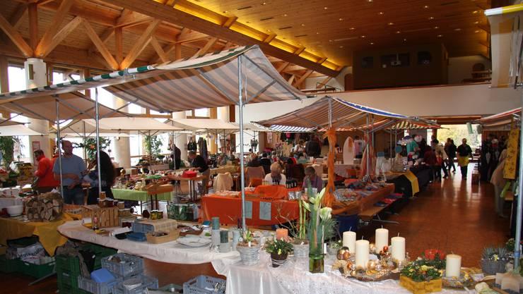 Übersicht des Herbstmarktes 2012