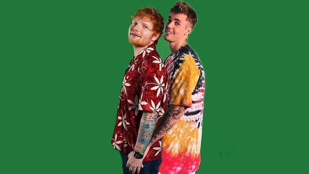 Ed Sheeran und Justin Bieber brechen Rekord