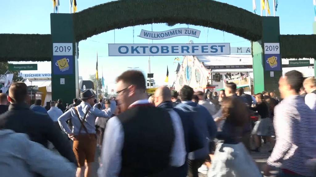 Das 186. Oktoberfest ist offiziell eröffnet
