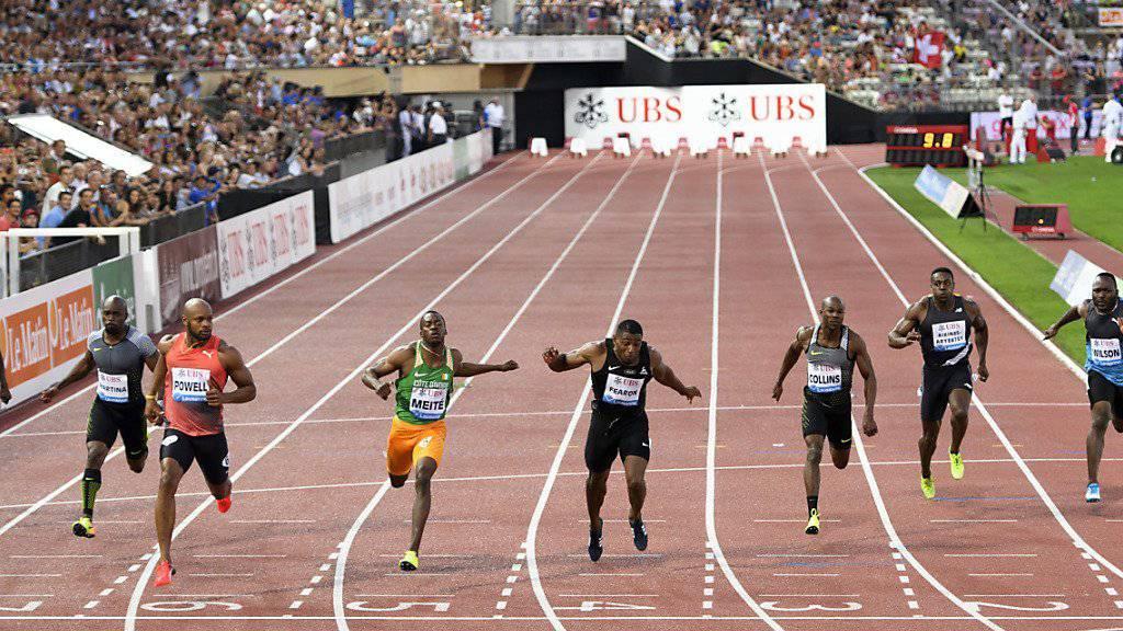 Die Leichtathleten werden sich bei der Athletissima in Lausanne noch bis 2025 im Stadion Pontaise messen. (Archivbild)