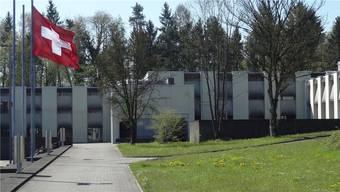 Die Kaserne Bremgarten (hier eine Teilansicht der Kompaniehäuser mit Unterkünften) feiert 2018 ihr 50-jähriges Bestehen und steht unter Heimatschutz.chr