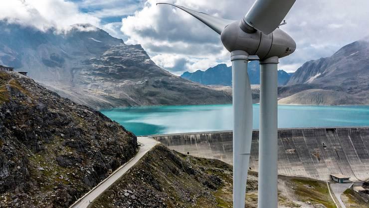 Windräder in der Schweiz decken 0,5 Prozent des Strombedarfs der Schweiz.