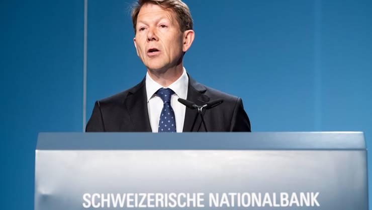 Fritz Zurbrügg ist seit 2015 Vize-Präsident der Schweizerischen Nationalbank.