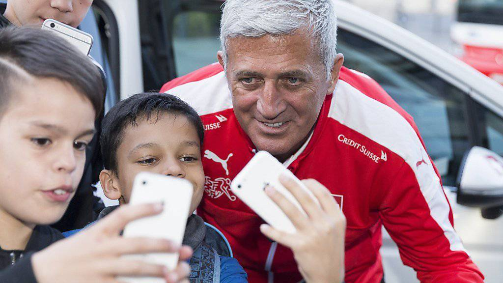 Auch in der Öffentlichkeit viel mehr Wertschätzung: der Schweizer Naticoach Vladimir Petkovic