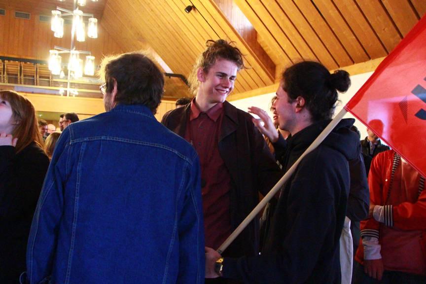 Andri Bösch und seine Kollegen fühlen sich als Gewinner. FM1Today/rar