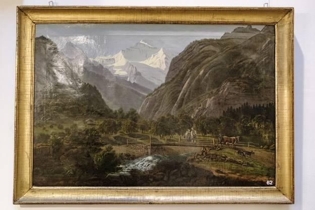 Unspunnen gegen Jungfrau, Ende 18. Jahrhundert