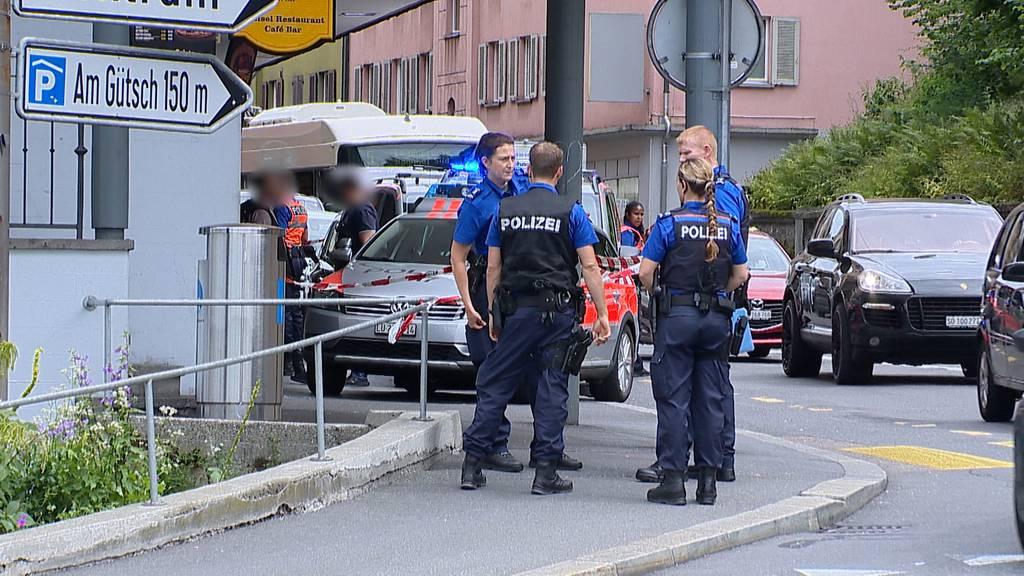 Baselstrasse: Eine Person mit Messer verletzt