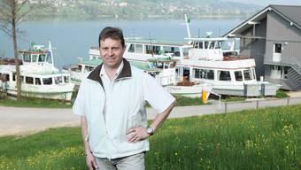 «Kunde soll sich wie daheim fühlen»: Ueli Haller, Geschäftsführer der Schifffahrtgesellschaft Hallwilersee. (rahu)