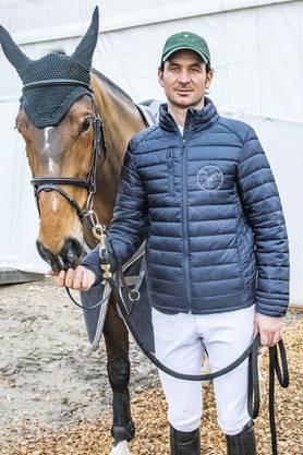 Steve Guerdat tritt in Basel 2019 unter anderem mit seiner belgischen Stute Hannah an.