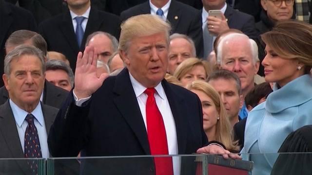 Vereidigung Donald Trump