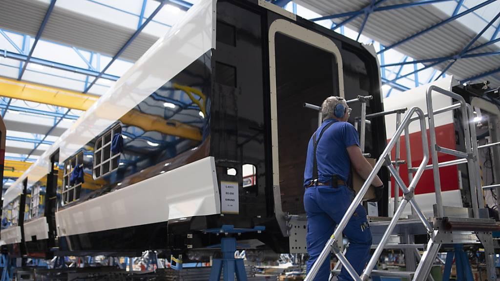Stadler Rail sichert sich Milliardenauftrag der SBB