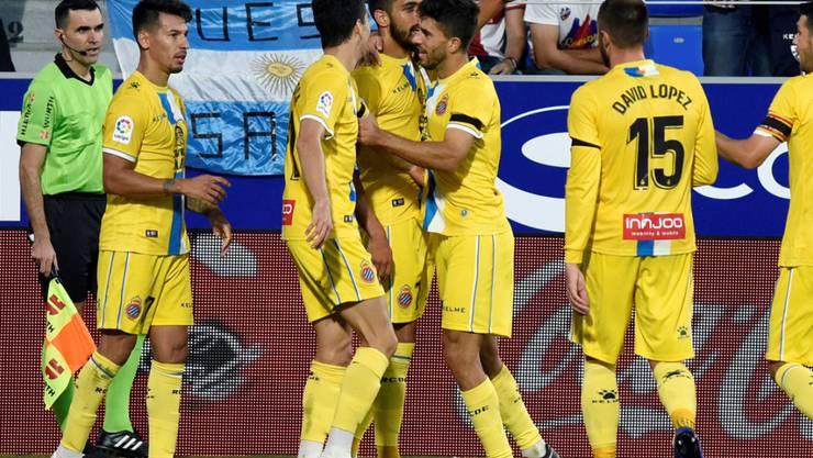 Espanyol Barcelona etabliert sich als erster Verfolger von Stadtrivale FC Barcelona