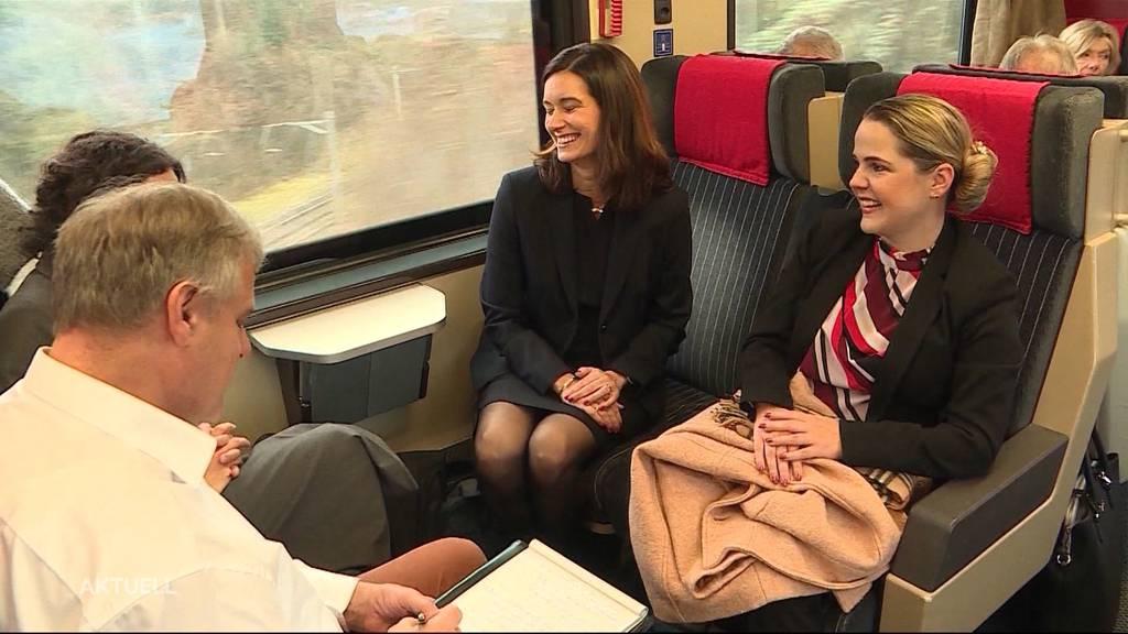 Aufregende Reise für frischgewählte Aargauer und Solothurner Nationalratsmitglieder