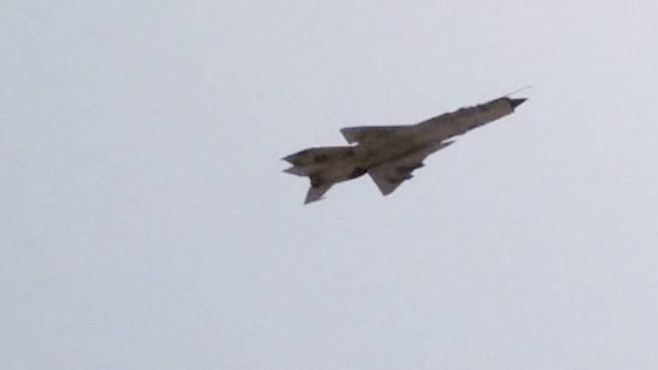 Kampfflugzeug im Luftraum über Libyen: US-Armee führt Anti-Al-Kaida-Angriff durch (Symbolbild)