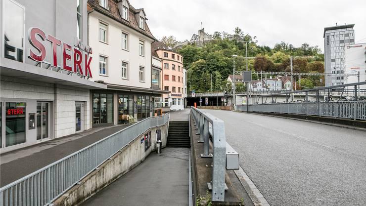 Die Einwohnerräte wünschten beim Kino Sterk und beim Café Colombo eine Begegnungszone mit Tempo 20.