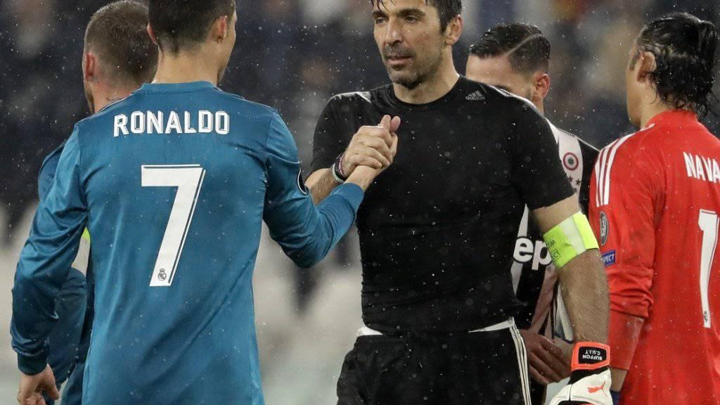 Gianluigi Buffon hofft mit Juventus Turin in Madrid auf ein Wunder